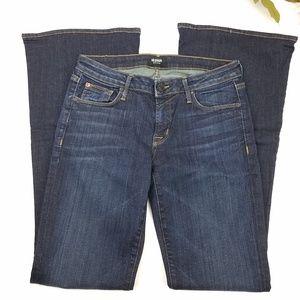 Hudson Mia 5 pocket flare size 27 dark wash